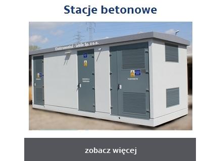Kontenerowe stacje transformatorowe w obudowie betonowej